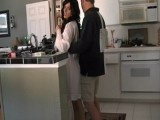 Dude Surprised His Brothers Girlfriend In the Kitchen