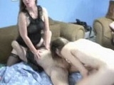 Wild Amateur Mature Sluts in Crazy Home Orgy