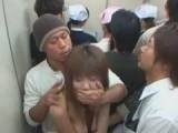 Japanese Schoolgirl Gangraped Inside The Elevator