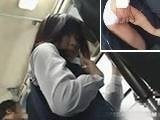 Asian Sexy Teen Groped to Orgasm in Public Bus
