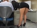 Hot Ass Secretary Crossed The Line This Time
