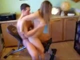 Amateur Teen Couple Go Dirty At Home