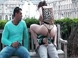 Nasty Couple Fucked In Public Park