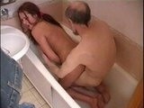 Dirty Daddy Fucked Friends Daughter In the Bath 