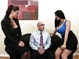 Job Interview With Two Milf Bosses Goes Fucking Wrong