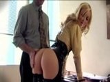 Tight Ass Blonde Secretary Banged In The Office
