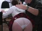 Perv Boss Used His Position To Blackmail Young Booty Secretary