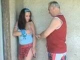 Dirty Old Coach Training Young Teen Pussy