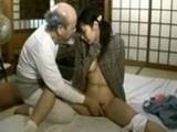 Dirty Old Perv Shows Teen What Should To Do With Her Boyfriend