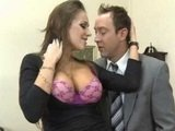 Busty Secretary Seduces And Fucks Her Boss