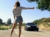 Sexy Teen Hitchhiker Pulled Over Very Wrong Car