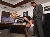 Sexy Secretary Spanked and Fucked Hard at Office