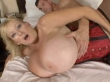 Blonde Milf With Natural Big Boobs Prefers Young Dicks