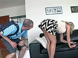 Boy Is Crazy About Girlfriend's Sexy Milf Mom!