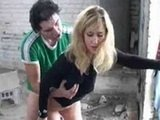 Horny Young Couple Having Hot Sex In Public Place