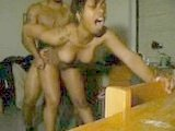 Sexy Black Chick Screams While Getting Fucked Hard