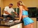 Hot Ass Housewife Likes Sex In The Kitchen