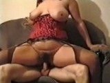 Busty Wife Rides Her Hubbys Rigid Dick