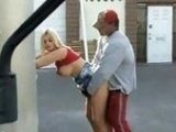 Dude Rammed Sexy Bitch On Public Place