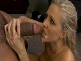 Hot Blonde Milf Tries A Monster Black Dick