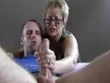 Lustful Mature Woman Helped Her Neighbor To Cum