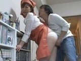 Immodest Boy Grabbed And Fucked Sexy Mature Maid