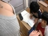 Teen Boys Adventures With MILF Teacher In Classroom