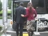 Husband With Sexy Wife Enters Wrong Bus