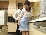 Nerd Boy Attacks Sexy Nighbors Wife In The Kitchen