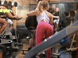 There Are So Many Hot Girls At the Gym, But This One is Special