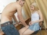 Well Hung Dude Rammed His Sexy Teen Friend