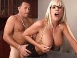 Big Boobed Milf Drilled Hard in Doggystyle