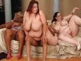 Totally Crazy BBW Group Fucking Party