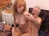 Old Man Almost Died While Fucking Sexy Teen