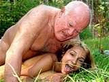 Perverted Granpa Fucked My Ex Girlfriend In The Forest