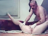 German Amateur Couple goes Wild and Tape All