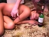 Drunk Girl Passed Out After Rough Sex