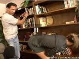 Librarian Forced To Fuck Roughly