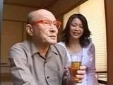 Japanese Housewife Seduces 89yo Grandfather