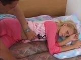 Teen Girl Interrupted While She Was Sleeping