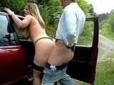Hot Hitchhiker Fucks to get a Ride