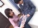 Asian Milf Caught Shy Boy Jerking on Porno Magazine