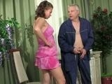 Teen Girl Caught Boyfriends Grandpa Jerkingh on her Panties!
