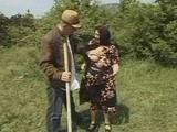 Naughty Granny Let Horny Boy Pound Her In Grassy Outdoor