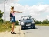Girl Will Never Hitchhiked Again!