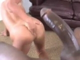 Blonde Hottie Experienced A Monster Black Cock