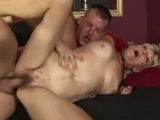 Blonde Mature Slut Fucked By Young Hard Dick