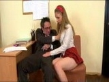 Slutty Girl Seduces Her Teacher To Pass The Grade