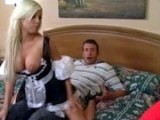 Wife Caught Hubby Fucking With Hot Maid