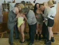 Hookers payed to visit tree oldies from retirement home.